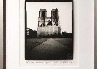 Notre Dame, Paris, Framed