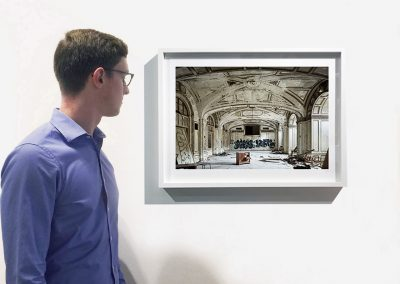 21.25 x 26.5 inch framed installation view