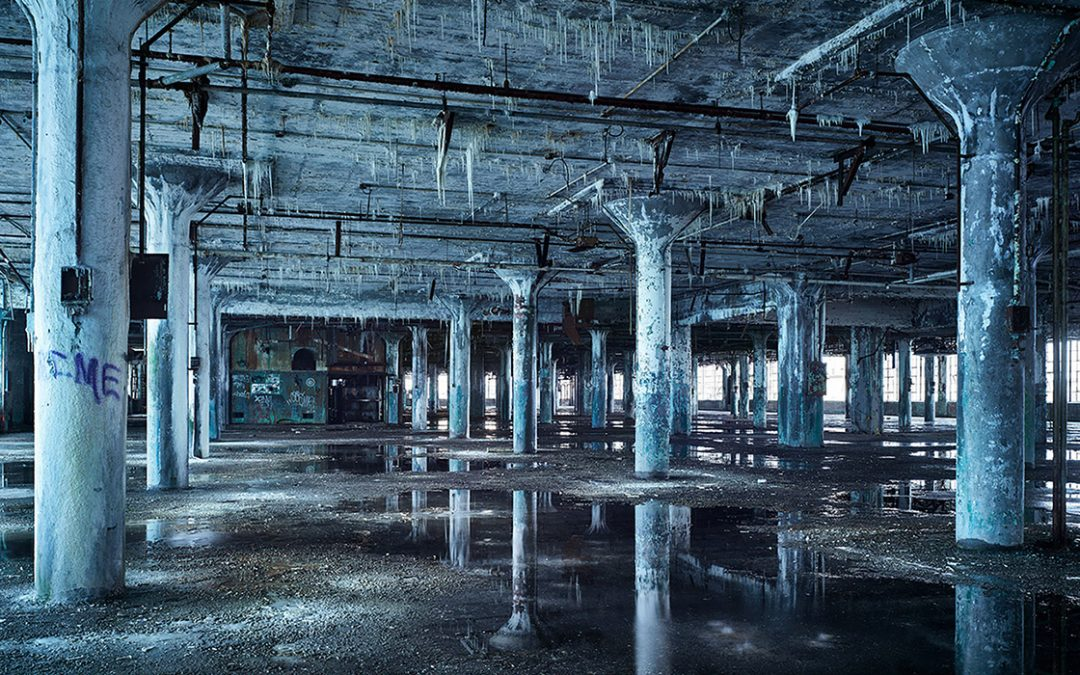 Fisher Body Plant Interior, 2012