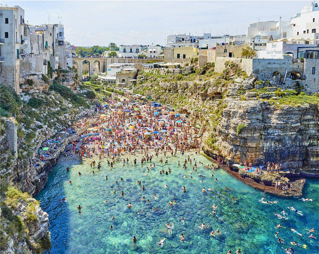 'Polignano A Mare (mid-day), Bari, Apulia, Italy' - David Burdeny