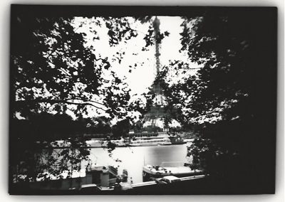 Eiffel Tower, (through Trees), Paris, 1998