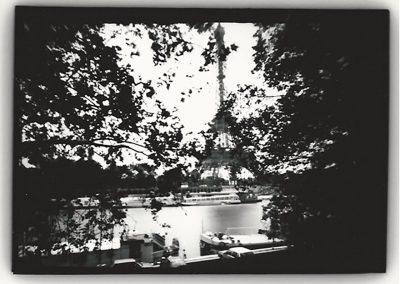 Dianne Bos – Eiffel Tower (Through Trees), Paris