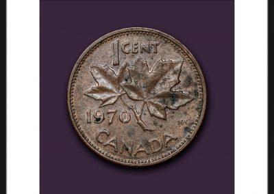 One Cent Portrait- 1970
